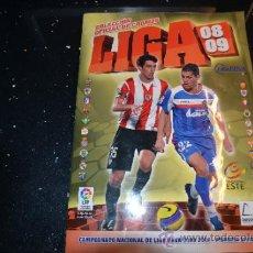 Coleccionismo deportivo: ALBUM CROMOS LIGA ETE 2008 2009. Lote 36757393