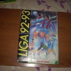 Coleccionismo deportivo: ALBUM DE LA LIGA 1992-93 ESTE, ENVIO GRATIS. Lote 36867564