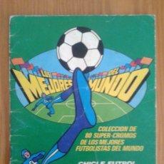 Coleccionismo deportivo: ALBUM DE FUTBOL - ESTAMPAS O CROMOS (51) - LOS MEJORES DEL MUNDO - CHICLE BOOMER - 1981 . Lote 36868517