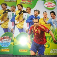 Coleccionismo deportivo: VERSION ALBUM VACIO ADRENALYN CROMOS ROAD TO FIFA WORLD CUP BRAZIL 2014 14 PANINI. Lote 175725208