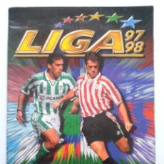 Coleccionismo deportivo: LIGA 97 98 - ALBUM DE CROMOS OFICIAL - CAMPEONATO NACIONAL DE LIGA 1997 / 1998 - LFP - 192 CROMOS. Lote 36983539