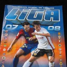 Coleccionismo deportivo: ALBUM INCOMPLETO CON 245 CROMOS LIGA ESTE 2007/2008 - 2007/08. Lote 37116712