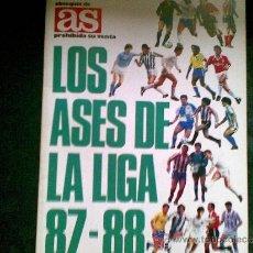 Coleccionismo deportivo: ÁLBUM LIGA DE FÚTBOL 87-88. Lote 37236196