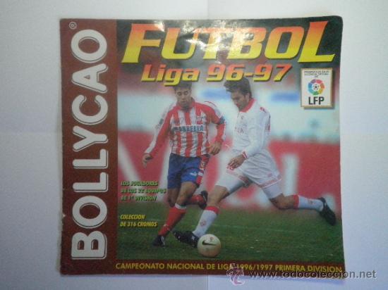 ALBUM DE CROMOS DE FUTBOL BOLLYCAO LIGA 96 - 97 - INCOMPLETO (Coleccionismo Deportivo - Álbumes y Cromos de Deportes - Álbumes de Fútbol Incompletos)