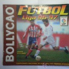 Coleccionismo deportivo: ALBUM DE CROMOS DE FUTBOL BOLLYCAO LIGA 96 - 97 - INCOMPLETO. Lote 37678408