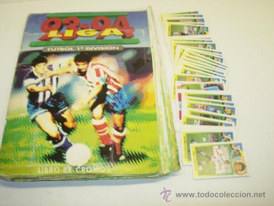 ALBUM CROMOS FUTBOL LIGA 93-94 ESTE CON 391 CROMOS (Coleccionismo Deportivo - Álbumes y Cromos de Deportes - Álbumes de Fútbol Incompletos)