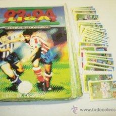 Coleccionismo deportivo: ALBUM CROMOS FUTBOL LIGA 93-94 ESTE CON 391 CROMOS. Lote 162635074