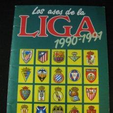 Coleccionismo deportivo: ALBUM LOS ASES DE LA LIGA 1990-1991 AS 90-91 . Lote 37569941