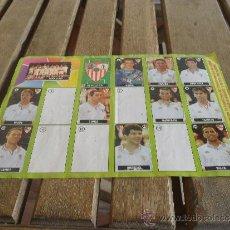 Coleccionismo deportivo: ALBUM DEL CHICLE LA LIGA DE LAS ESTRELLAS 1996 1997 96 97 SEVILLA. Lote 37574184