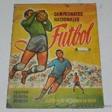 Coleccionismo deportivo: ALBUM CAMPEONATOS NACIONALES FUTBOL 1958 ,FALTAN 15 CROMOS DE 192 CROMOS, EDT RUIZ ROMERO, BARCELONA. Lote 37603932