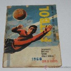 Coleccionismo deportivo: ALBUM FUTBOL CAMPEONATOS NACIONALES EQUIPOS PRIMERA DIVISION 1960 , EDT RUIZ ROMERO, SEÑALES DE USO. Lote 37604048
