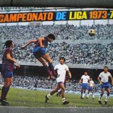 Coleccionismo deportivo: ALBUM LIGA DE FUTBOL 1973-74, INCOMPLETO, FALTAN 19 CROMOS, VER FALTAS. Lote 37604572