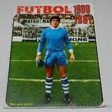 Coleccionismo deportivo: ALBUM FUTBOL 1980 - 1981 , EDT FHER , ALBUM COMPLETO MENOS LOS FICHAJES,. Lote 37803018