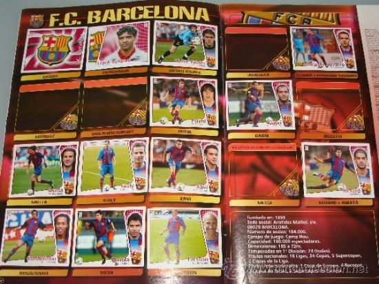 Coleccionismo deportivo: ÁLBUM DE CROMOS DE FÚTBOL. LIGA 04 05 2004 2005. EDICIONES ESTE. INCLUYE 285 CROMOS. - Foto 5 - 37824273