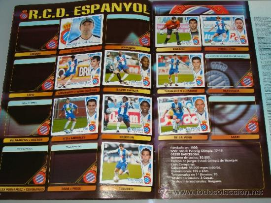 Coleccionismo deportivo: ÁLBUM DE CROMOS DE FÚTBOL. LIGA 04 05 2004 2005. EDICIONES ESTE. INCLUYE 285 CROMOS. - Foto 8 - 37824273