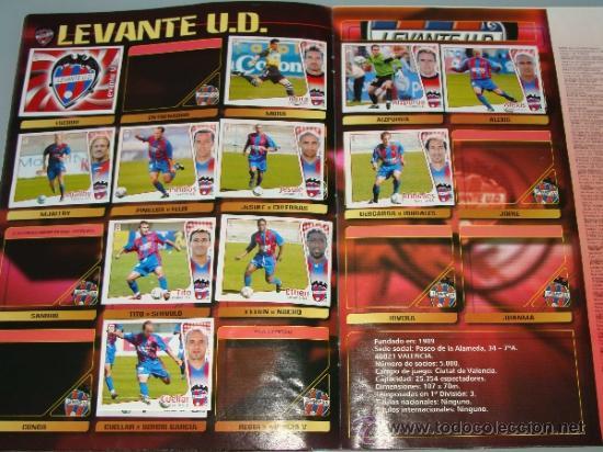 Coleccionismo deportivo: ÁLBUM DE CROMOS DE FÚTBOL. LIGA 04 05 2004 2005. EDICIONES ESTE. INCLUYE 285 CROMOS. - Foto 10 - 37824273