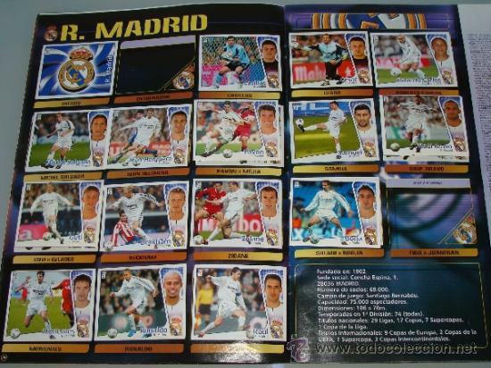 Coleccionismo deportivo: ÁLBUM DE CROMOS DE FÚTBOL. LIGA 04 05 2004 2005. EDICIONES ESTE. INCLUYE 285 CROMOS. - Foto 11 - 37824273