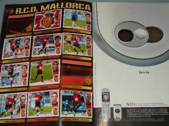 Coleccionismo deportivo: ÁLBUM DE CROMOS DE FÚTBOL. LIGA 04 05 2004 2005. EDICIONES ESTE. INCLUYE 285 CROMOS. - Foto 13 - 37824273