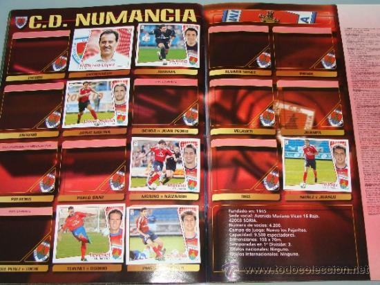 Coleccionismo deportivo: ÁLBUM DE CROMOS DE FÚTBOL. LIGA 04 05 2004 2005. EDICIONES ESTE. INCLUYE 285 CROMOS. - Foto 15 - 37824273
