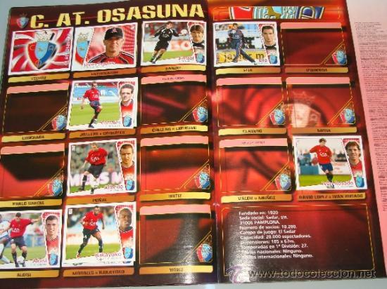 Coleccionismo deportivo: ÁLBUM DE CROMOS DE FÚTBOL. LIGA 04 05 2004 2005. EDICIONES ESTE. INCLUYE 285 CROMOS. - Foto 16 - 37824273
