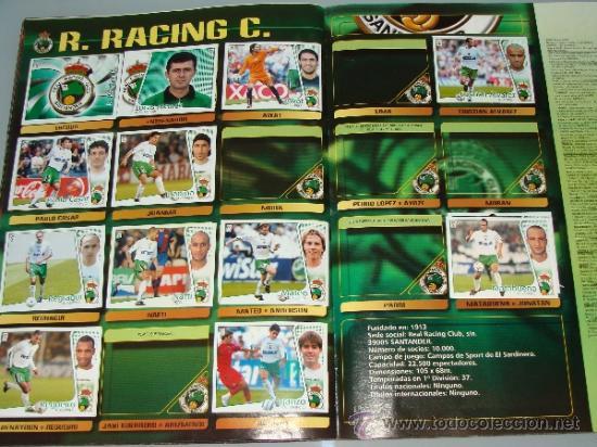 Coleccionismo deportivo: ÁLBUM DE CROMOS DE FÚTBOL. LIGA 04 05 2004 2005. EDICIONES ESTE. INCLUYE 285 CROMOS. - Foto 17 - 37824273