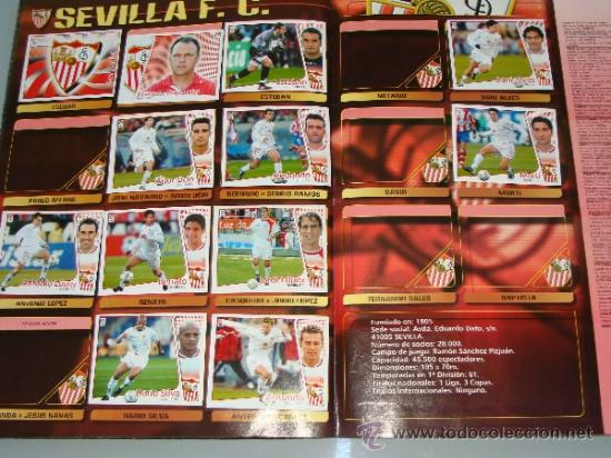 Coleccionismo deportivo: ÁLBUM DE CROMOS DE FÚTBOL. LIGA 04 05 2004 2005. EDICIONES ESTE. INCLUYE 285 CROMOS. - Foto 18 - 37824273