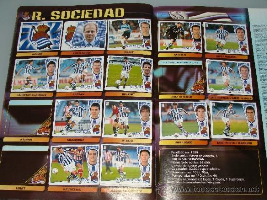 Coleccionismo deportivo: ÁLBUM DE CROMOS DE FÚTBOL. LIGA 04 05 2004 2005. EDICIONES ESTE. INCLUYE 285 CROMOS. - Foto 19 - 37824273