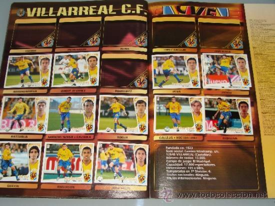 Coleccionismo deportivo: ÁLBUM DE CROMOS DE FÚTBOL. LIGA 04 05 2004 2005. EDICIONES ESTE. INCLUYE 285 CROMOS. - Foto 21 - 37824273