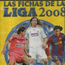 Coleccionismo deportivo: ALBUM DE LAS FICHAS DE LA LIGA DE 2008 CON 495 FICHAS. Lote 277662813