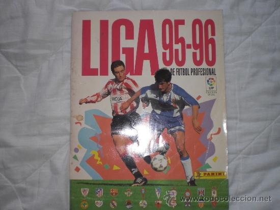 LIGA 95-96 PANINI (Coleccionismo Deportivo - Álbumes y Cromos de Deportes - Álbumes de Fútbol Incompletos)