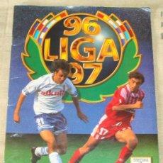 Coleccionismo deportivo: ÁLBUM DE CROMOS DE FÚTBOL. LIGA 96 97 1996 1997. ESTE. CONTIENE 378 CROMOS. . Lote 38198207