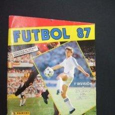 Coleccionismo deportivo: FUTBOL 87 - CONTIENE 160 CROMOS - PANINI - . Lote 38326969