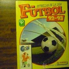Coleccionismo deportivo: FUTBOL ESTRELLAS DE LA LIGA .-92-93. Lote 38336108