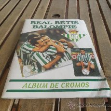Coleccionismo deportivo: ALBUM DE CROMOS REAL BETIS BALOMPIE MUNDO BETICO LE FALTA EL CROMO 245. Lote 38338279
