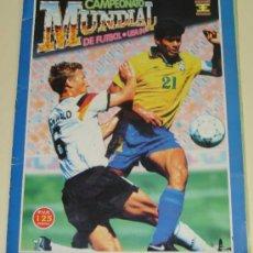 Coleccionismo deportivo: ÁLBUM DE CROMOS. MUNDIAL DE FÚTBOL ESTADOS UNIDOS USA 94 1994. EDICIONES ESTADIO. . Lote 38668401