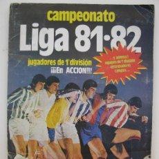 Coleccionismo deportivo: ÁLBUM DE CROMOS
