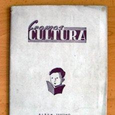 Coleccionismo deportivo: CROMOS CULTURA ALBUM SÉPTIMO - EDITORIAL BRUGUERA 1941 - VER FOTOS INTERIORES. Lote 39011951