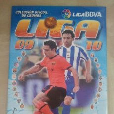 Coleccionismo deportivo: ÁLBUM EDICIONES ESTE LIGA 2009-10 - 09/10 - CASI COMPLETO A FALTA DE 48 FICHAJES (NUEVO). Lote 39044561