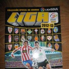 Coleccionismo deportivo: ALBUM OFICIAL LIGA FUTBOL 2012-13. COLECCIONES ESTE / PANINI * (INCOMPLETO). Lote 39061072