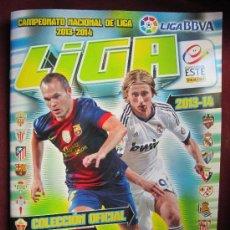 Coleccionismo deportivo: ÁLBUM LIGA BBVA TEMP. 2013-2014 ESTE PANINI CON 6 CROMOS. NUEVO. Lote 39084050