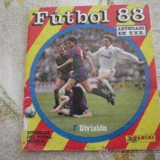 Coleccionismo deportivo: ALBUM DE CROMOS FUTBOL 88 DE PANINI.. Lote 39160050