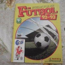 Coleccionismo deportivo: ALBUM DE CROMOS ESTRELLAS DE LA LIGA FUTBOL 92-93 DE PANINI.. Lote 39179168
