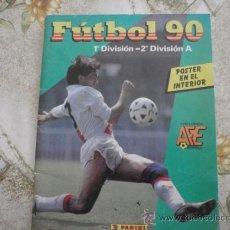 Coleccionismo deportivo: ALBUM DE CROMOS FUTBOL 90 DE PANINI. Lote 39179215