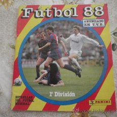 Coleccionismo deportivo: ALBUM DE CROMOS FUTBOL 88 DE PANINI.. Lote 39179244