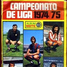 Coleccionismo deportivo: ALBUM FUTBOL, CAMPEONATO LIGA 1974 1975 74 75, EDICIONES ESTE , VER FOTOS ,ORIGINAL, D. Lote 39190722