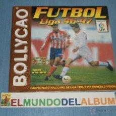Coleccionismo deportivo: ALBUM INCOMPLETO DE FUTBOL LIGA 1996-1997/96-97 DE BOLLYCAO. Lote 39310121