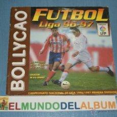 Coleccionismo deportivo: ALBUM INCOMPLETO DE FUTBOL LIGA 1996-1997/96-97 DE BOLLYCAO. Lote 39310489