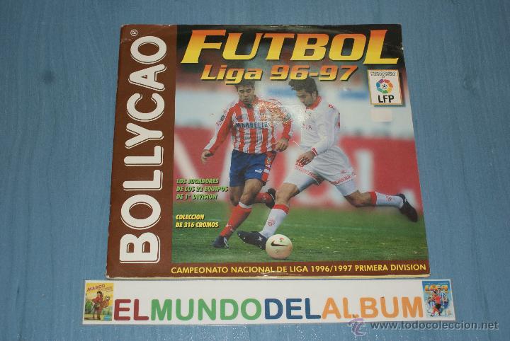 ALBUM INCOMPLETO DE FUTBOL,LIGA 1996-1997/96-97,DE BOLLYCAO (Coleccionismo Deportivo - Álbumes y Cromos de Deportes - Álbumes de Fútbol Incompletos)