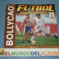 Coleccionismo deportivo: ALBUM INCOMPLETO DE FUTBOL,LIGA 1996-1997/96-97,DE BOLLYCAO. Lote 39310567
