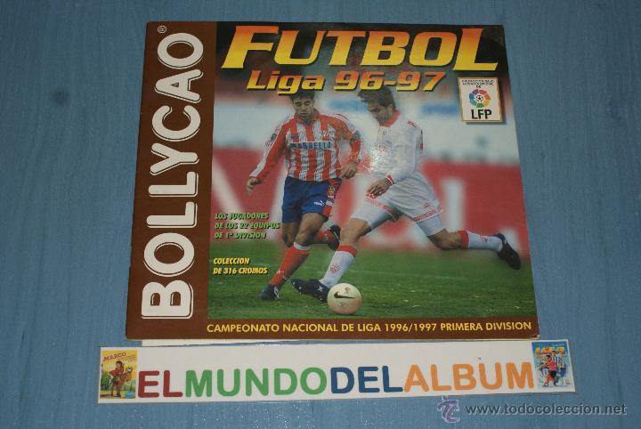 ALBUM INCOMPLETO DE FÚTBOL LIGA 96-97/1996-1997 DE BOLLYCAO (Coleccionismo Deportivo - Álbumes y Cromos de Deportes - Álbumes de Fútbol Incompletos)